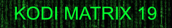 Kodi19Matrix baner